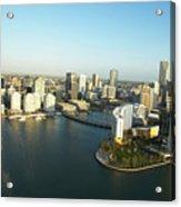 Usa, Florida, Miami, Downtown, Aerial View Acrylic Print