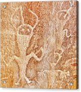 Usa, Utah And Colorado, Dinosaur National Monument, Petroglyphs Acrylic Print