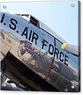 Usaf Douglas Dc-3 Transport Aircraft Acrylic Print