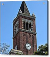Usc's Clock Tower Acrylic Print