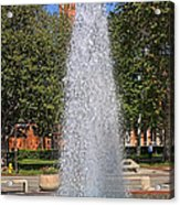 Usc's Fountain Acrylic Print
