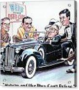 Used Car Salesmen Acrylic Print
