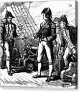 Uss Chesapeake, 1807 Acrylic Print