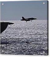 U.s.s. Coral Sea Aircraft Carrier Acrylic Print