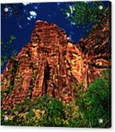 Utah - Zion National Park - Angels Landing Acrylic Print