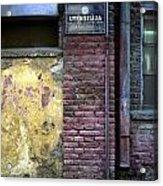 Utensils. Belgrade. Serbia Acrylic Print