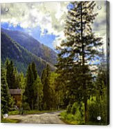 Vail Country Road 1 Acrylic Print