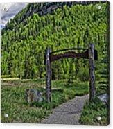Vail Memorial Park Acrylic Print