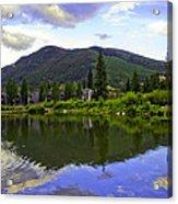 Vail Reflections 6 Acrylic Print