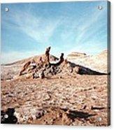 Valle De La Luna - Atacama Desert Northern  Acrylic Print by Ronald Osborne