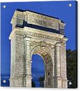 Valley Forge Memorial Arch Acrylic Print