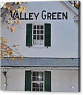 Valley Green Inn - Side View Acrylic Print