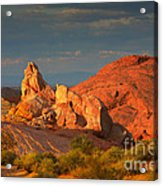 Valley Of Fire - Picturesque Desert Acrylic Print by Christine Till