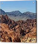 Valley Of Fire 2 Of 4 Acrylic Print