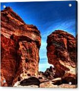 Valley Of Fire Monuments Acrylic Print