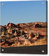 Valley Of Fire Winding Road Acrylic Print