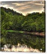 Valley River Acrylic Print