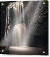 Valley Waterfall Lost Love Acrylic Print