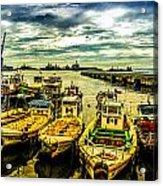 Valparaiso Bay Acrylic Print