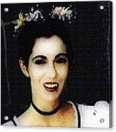 Vampire Bride Acrylic Print