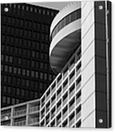 Vancouver Architecture Acrylic Print by Chris Dutton