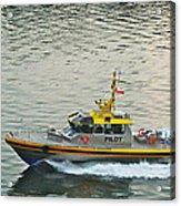 Vancouver Harbour Pilot Acrylic Print