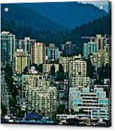 Vancouver Rooms With A View Acrylic Print