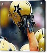 Vanderbilt Commodore Helmet  Acrylic Print