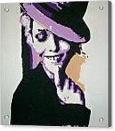 Vanessa Paradis Acrylic Print