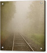 Vanishing Into The Fog Acrylic Print