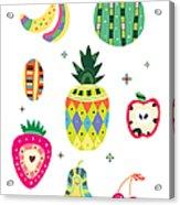 Various Kinds Of Fruit Acrylic Print