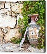 Vase And Trowel  Acrylic Print