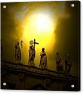 Vatican City Statues Vatican City Rome Italy Acrylic Print