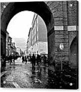 Vatican City Wall Rainy Acrylic Print