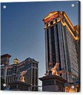 Vegas Moon Acrylic Print
