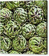Vegetables In A Market In Lima, Peru Acrylic Print