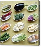Vegetables Acrylic Print