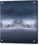 Veil Of Mist Acrylic Print