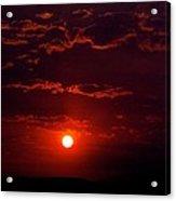 Velvet Sun Acrylic Print