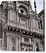 Venetian Architecture Iv Acrylic Print by Ellen Heaverlo