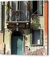 Venetian Doorway Acrylic Print
