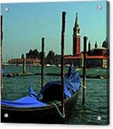 Venetian Gandola Acrylic Print