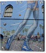 Venice Beach Wall Art 9 Acrylic Print