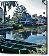 Venice Canals  Acrylic Print