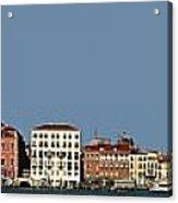 Venice Cityscape On The Lagoon Acrylic Print