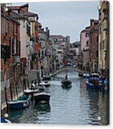 Venice Commuter Acrylic Print