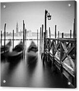 Venice Gondolas II Acrylic Print