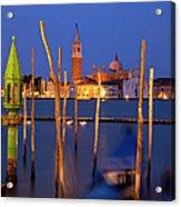 Venice Night Acrylic Print