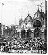Venice: Saint Marks, 1797 Acrylic Print