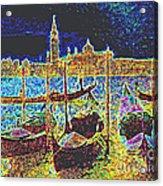 Venice Venezia Glow Acrylic Print